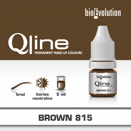 BROWN 815 QLINE PIGMENT 5ml