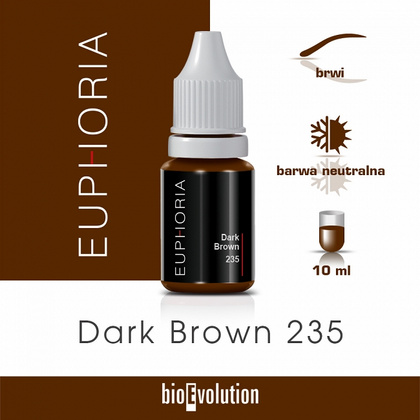 DARK BROWN 235 EUPHORIA 10ml
